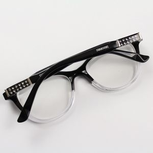 Swarovski Accessories - Swarovski Dixie SW 5088 005 Crystal Eyeglasses